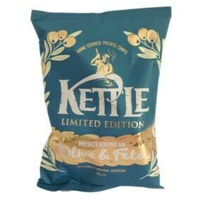 Kettle Mediteranen Olive & Feta Crisps