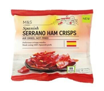 M&S Serrano Ham Crisps