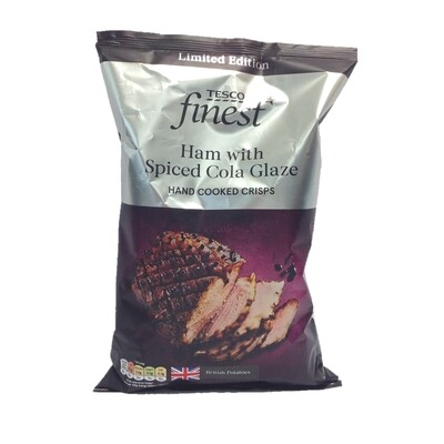 Tesco Finest Ham with Spiced Cola Glaze Handcooked Crisps