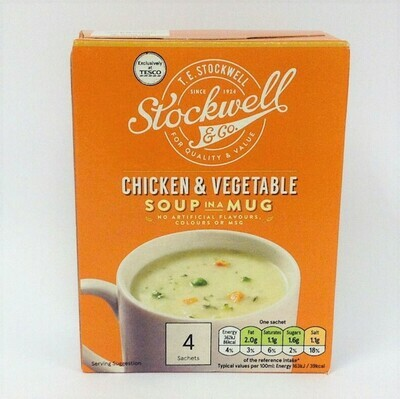 Stockwell & Co Chicken & Vegetable Soup in a Mug