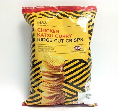 M&S Chicken Katsu Curry Ridge Cut Crisps