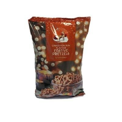 Sainsbury's Cinnamon Bun Flavour Festive Pretzels