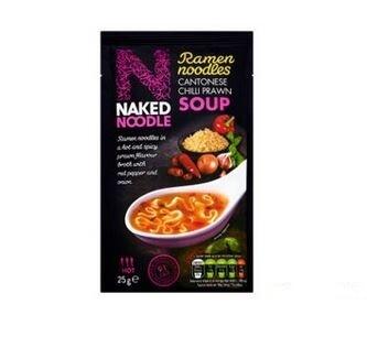 Naked Noodles Ramen Noodles : Cantonese Chilli Prawn Soup