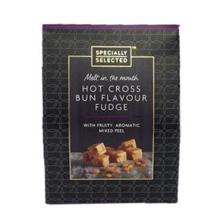 Aldi Specially Selected Hot Cross Bun Flavour Fudge