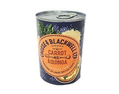 Crosse and Blackwell Carrot and Quinoa Soup (new design)
