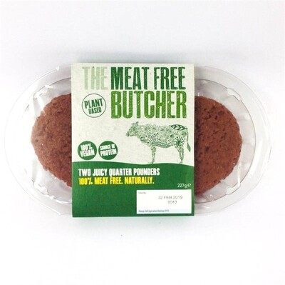 Aldi The Meat Free Butcher Quarter Pounder