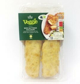 Morrisons Veggie Beer Battered Halloumi