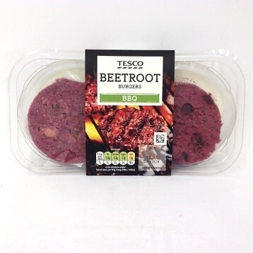 Tesco 2 Beetroot Burgers