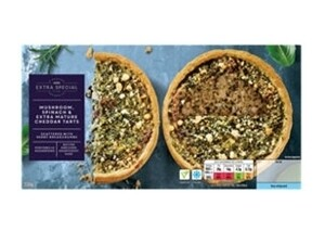 Asda Extra Special Mushroom, Spinach and Mature Cheddar Tarts