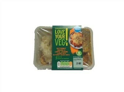 Sainsbury's Vegan Butternut Squash & Lentil Lasagne