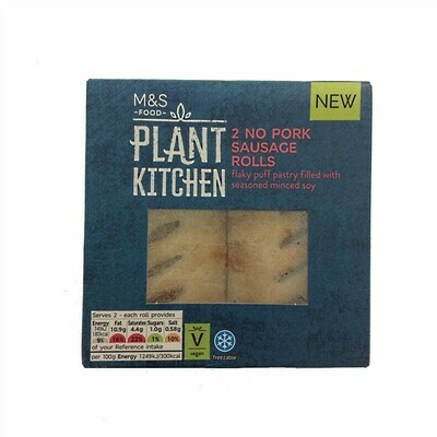 Marks and Spencer Plant Kitchen No Pork Sausage Rolls