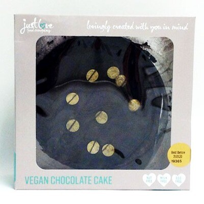 Just Love Food Vegan Chocolate Cake