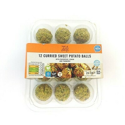 Aldi The Deli 12 Curried Sweet Potato Balls