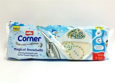 Muller Corner Christmas Magic Snowballs Yogurt