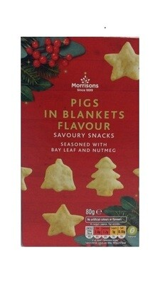 Morrisons Pigs in Blankets Flavour Savoury Snacks