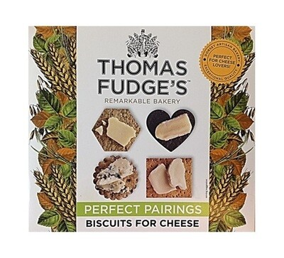 Thomas Fudge's Many Shaped Biscuits for Cheese