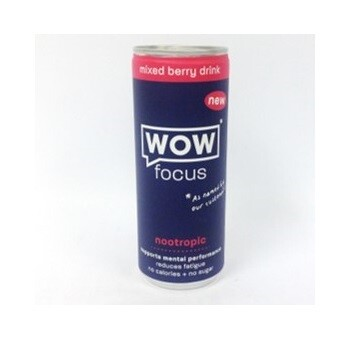 Wow Focus Mixed Berry Drink