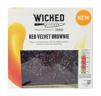 Wicked Kitchen Red Velvet Brownie