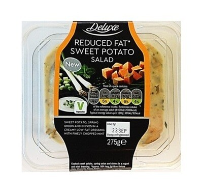 Lidl DeLuxe Reduced Fat Sweet Potato Salad