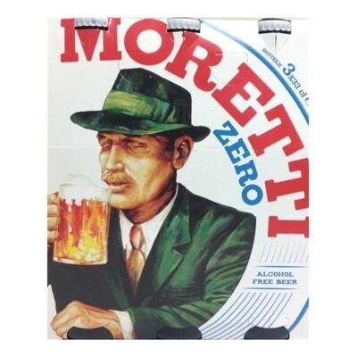 Birra Moretti Zero Alcohol-Free Beer
