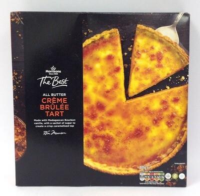 Morrisons The Best: All Butter Creme Brulee Tart
