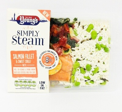 Young's Simply Steam Salmon and Sweet Chilli