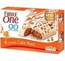 Fibre One : 90 Calories Carrot Cake Bars