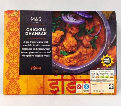 Marks and Spencer Chicken Dhansak