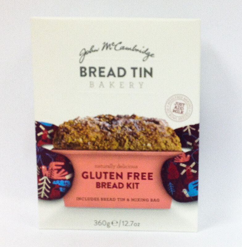 John McCambridge Bread Tin Bakery -  Gluten Free Bread Kit