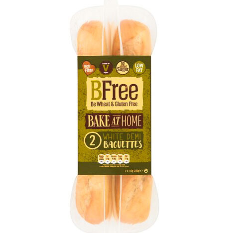 Bfree Bake at Home Triple Seeded Demi Baguettes (Gluten / Dairy free)