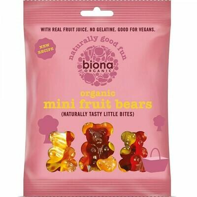 Biona Organic Mini Fruit Bears