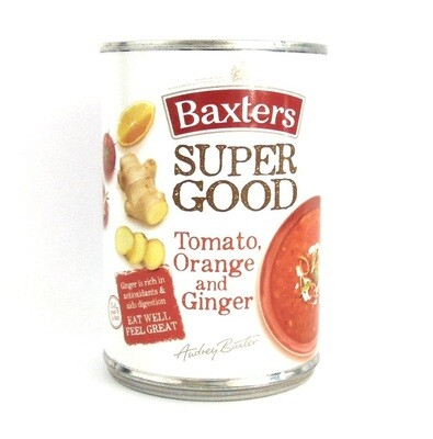 Baxters Super Good: Tomato, Orange & Ginger Soup