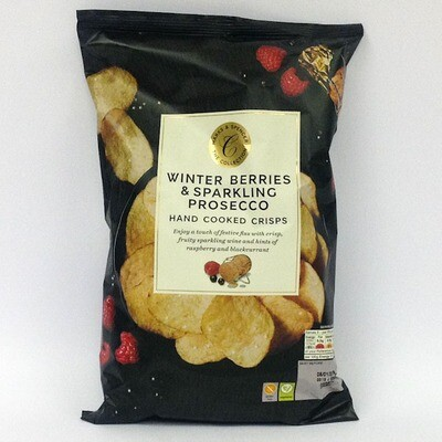 Marks & Spencer Winter Berries & Sparkling Prosecco Hand Cooked Crisps