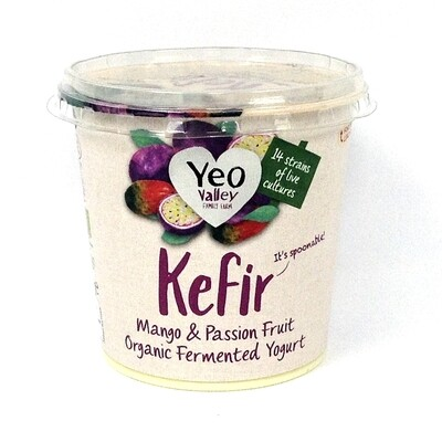 Yeo Valley Kefir Mango & Passion Fruit Organic Fermented Yogurt