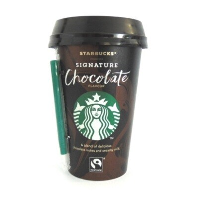 Starbucks Fairtrade Signature Chocolate Flavour Milk