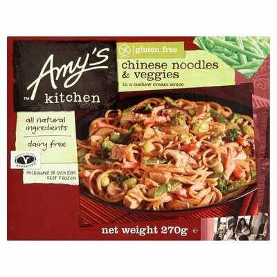 Amy's Kitchen Chinese Noodles & Veggies in a Cashew Cream Sauce