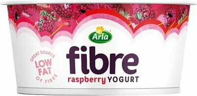 Arla Fibre Raspberry Yogurt