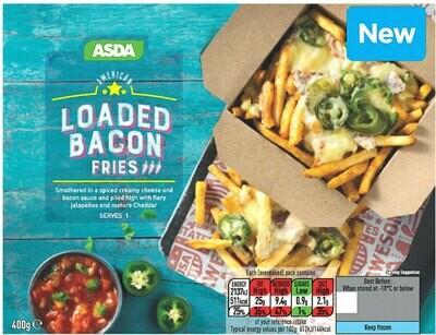 American Loaded Bacon Fries