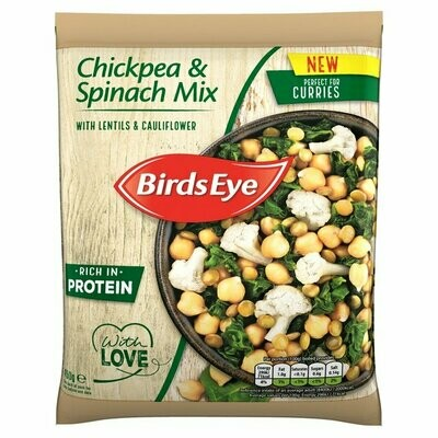 Birds Eye Chickpea And Spinach Mix