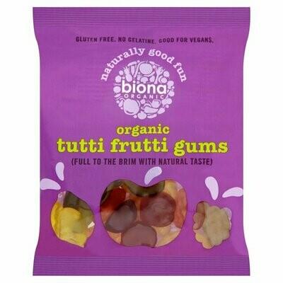 Biona Organic Tutti Frutti Gum Sweets
