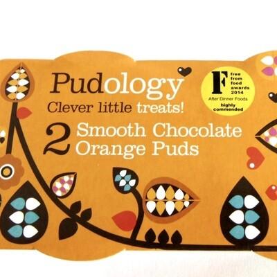 Pudology Smooth Chocolate Orange Puds