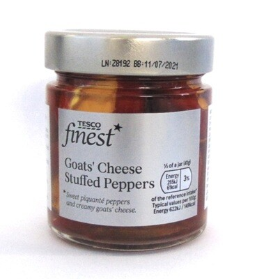 Tesco Finest: Goats' Cheese Stuffed Peppers