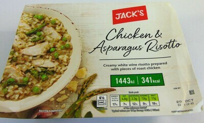 Jack's Chicken and Asparagus Risotto