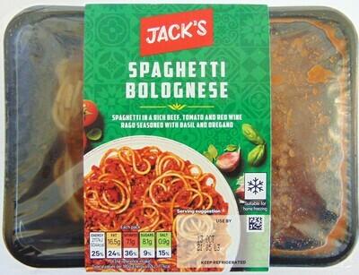 Jack's Spaghetti Bolognese