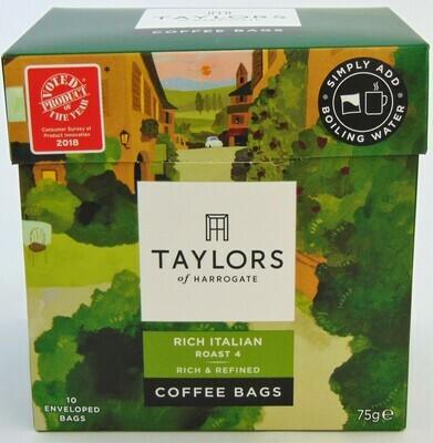 Taylor's : Italian Coffee Bags