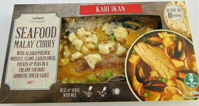 Iceland Seafood Malay Curry