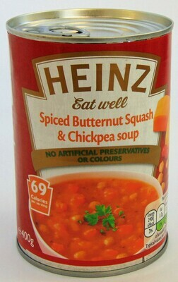 Heinz Eat Well - Spiced Butternut Squash & Chickpea Soup