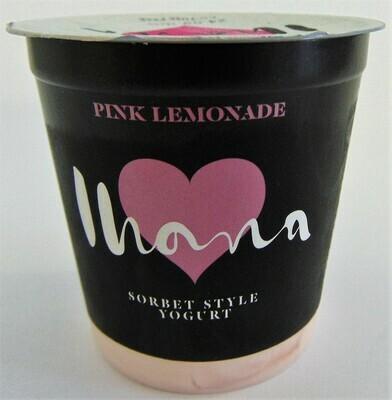 Ihana Pink Lemonade Sorbet Style Yoghurt