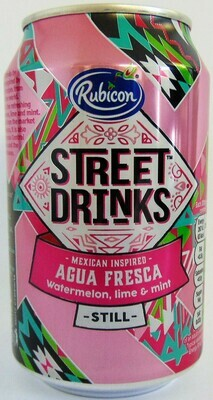 Rubicon Street Drinks Agua Fresca Still Juice