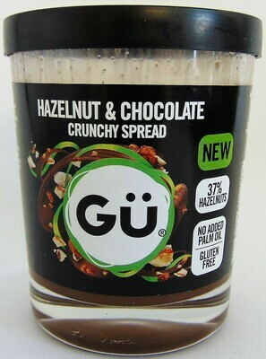 Gu Crunchy Chocolate and Hazelnut Spread
